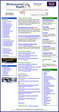 Our First Redesign in 2002