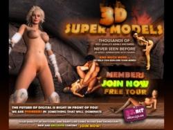 3D Super Models screenshot